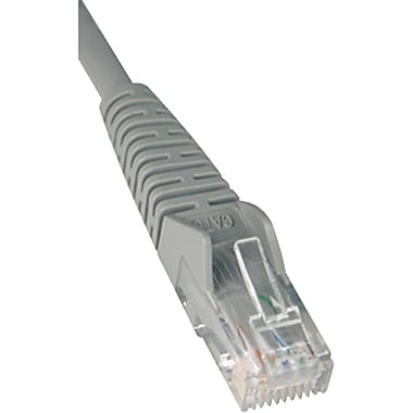 Tripp Lite TRPN201003WH 3' CAT-6 Snagless Molded Patch Cable, White