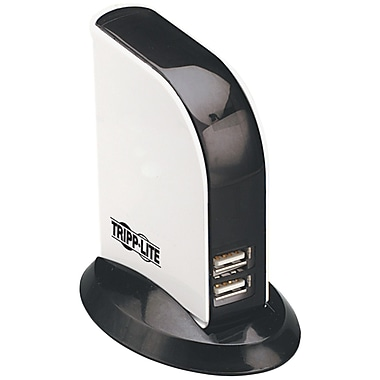 Tripp Lite 7-Port USB 2.0 Hub, Black/White