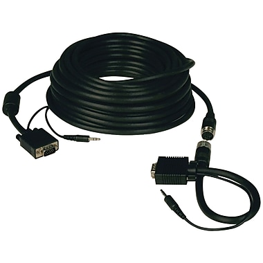 Tripp Lite TRPP504050EZ 50' HD-15 to HD-15 Monitor Cable, Black