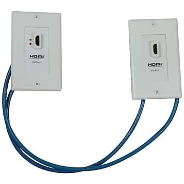 Tripp Lite HDMI™ Over Dual Cat5 Extender Wall Plate Kit