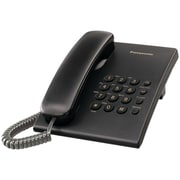 Panasonic® Kx-TS500B Integrated Telephone With 6-Step Electronic Handset