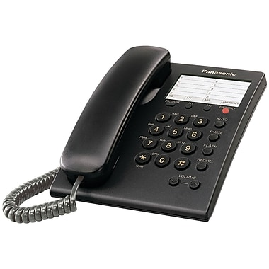 Panasonic® Kx-TS550B Integrated Telephone System With Emergency Button