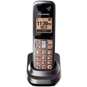 Panasonic® Kx-TGA106M Metallic Gray Digital Cordless Handset, 50 Name/Number