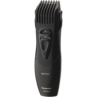 Panasonic® ER2403K Wet/Dry Hair And Beard Trimmer