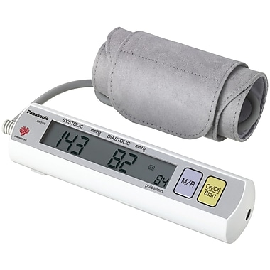 Panasonic® Portable Automatic Arm Blood Pressure Monitor