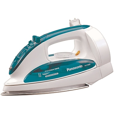Panasonic® 1200 W Steam/Dry Iron With Curved Stainless Steel Soleplate