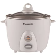 Panasonic® SRG10G 5 Cup Automatic Rice Cooker, White