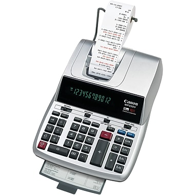 Canon® MP25DV 12-Digit Display Desktop Printing Calculator