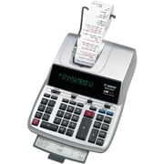 Cannon MP25DV 12-Digit Display Printing Desktop Calculator, Silver