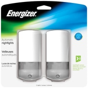 Energizer® 1 LED Design Automatic Night Light, White/Black