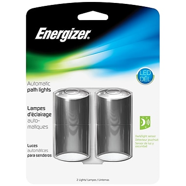 Energizer® 1 LED Design Automatic Path Light, Black