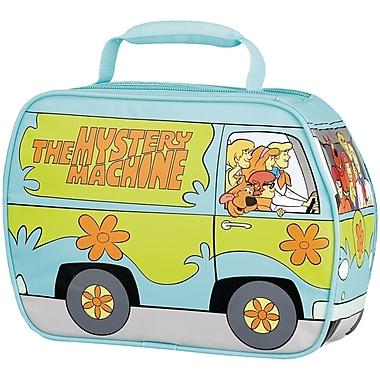 Thermos® Scooby-Doo™ Mystery Machine Polyethylene Foam Novelty Lunch Kit, Blue/Green