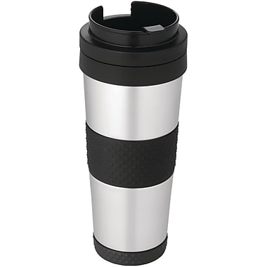Thermos® Nissan 18 oz. Stainless Steel Travel Tumbler, Black/Silver