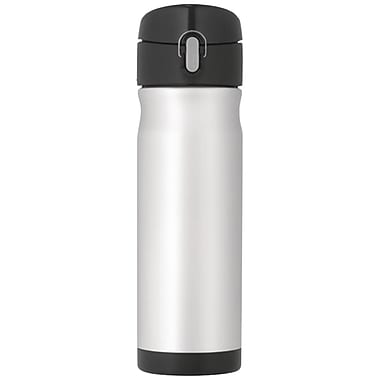 Thermos® 16 oz. Stainless Steel Hydration Bottle Backpack, Silver