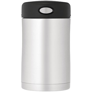 Thermos® Nissan 16 oz. Stainless Steel Food Jar, Black/Silver