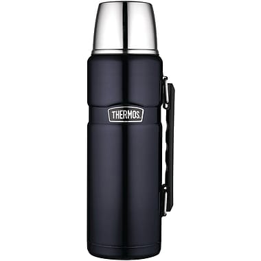 Thermos® 40 oz. Vacuum Insulated Stainless Steel King Beverage Bottle, Midnight Blue