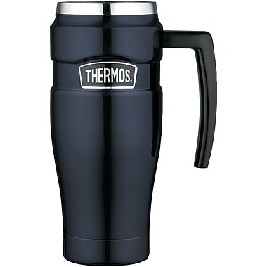 Thermos® 16 oz. Leak-proof Stainless Steel Travel Mug, Midnight Blue