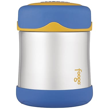 Thermos® Foogo® 10 oz. Leak-proof Bpa Free Vacuum Insulated Stainless Steel Food Jar, Blue