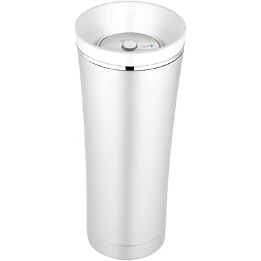 Thermos® Sipp 16 oz. Vacuum Insulated Stainless Steel Trim Travel Tumbler, White