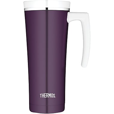 Thermos® Sipp 16 oz. Vacuum Insulated Stainless Steel Travel Mug, Plum
