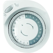 GE 24-Hour Plug-In Big Button Mechanical Light Timer