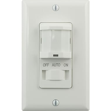 GE 15314 In-Wall Motion-Sensing Switch, White