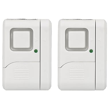 GE 45115 Wireless Window Alarms, 2/Pack