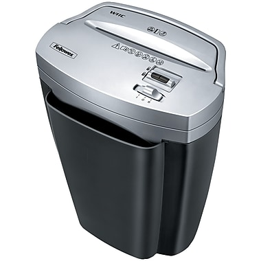 Fellowes® 3103201 Powershred W11C Cross Cut Shredder, 11 Sheets