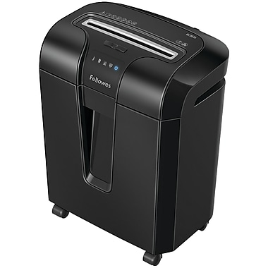 Fellowes® 4600001 Powershred 63cb Cross Cut Shredder, 10 Sheets