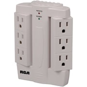 RCA® 6-Outlet 1200 Joule Surge Protector