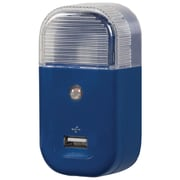 RCA® USB Home Night Light Charger, Blue