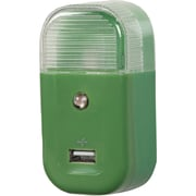 RCA® USB Home Night Light Charger, Green