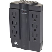 Acoustic Research® 6-Outlet 2100 Joule Swivel Surge Protector