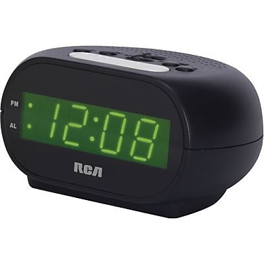 RCA® RCD10 Alarm Clock With 0.7in. LCD Display