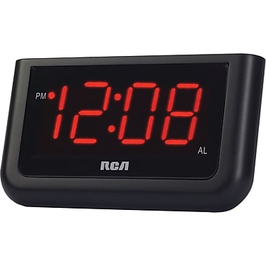 RCA® RCD10 Alarm Clock With 1.4in. LCD Display