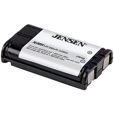 Jensen® JTB104 Ni-MH 830 mAh Cordless Phone Replacement Battery For Panasonic HHR-P104