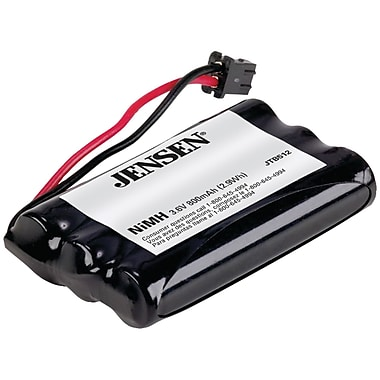 Jensen® JTB512 Ni-MH 800 mAh Cordless Phone Replacement Battery For Radio Shack And Uniden
