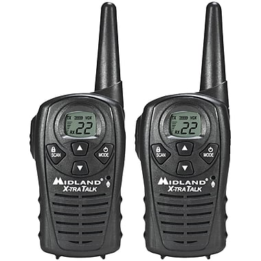 Midland Radio® LxT118 Up To 18 Mile Two-Way Radio