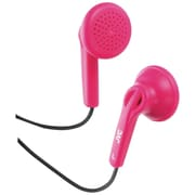 JVC® Earbuds With Hard Carrying Case, Pink