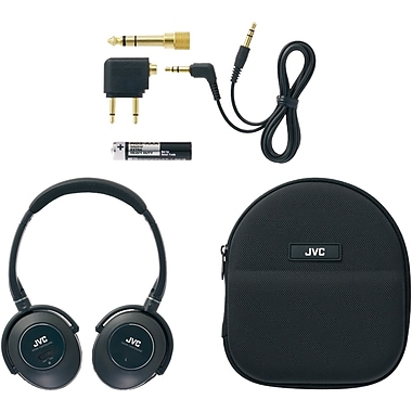JVC® High-Grade Noise-Canceling Headphones