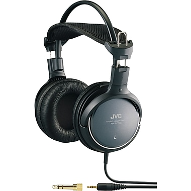 JVC HA-RX700 Over-Ear High-Grade Full-Size Headphone, Black