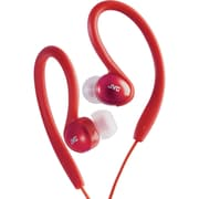 JVC® Sport-clip In-Ear Headphones, Red