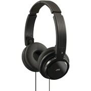 JVC® Riptidz Portable On-Ear Headband Headphones, Black