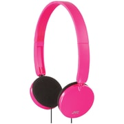 JVC® Lightweight On-Ear Headband Headphones, Pink