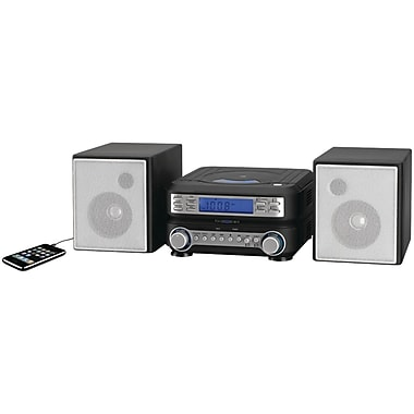 GPX® HC221B Horizontal AM/FM/CD Player