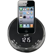 iLive™ ICP101B Clock Radio with FM for iPod and iPhone