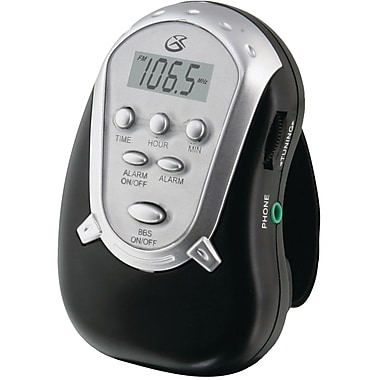 GPX® R300 Portable AM/FM Armband Clock Radio
