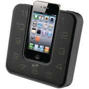iLive™ ICP391B Clock Radio with FM for iPod and iPhone