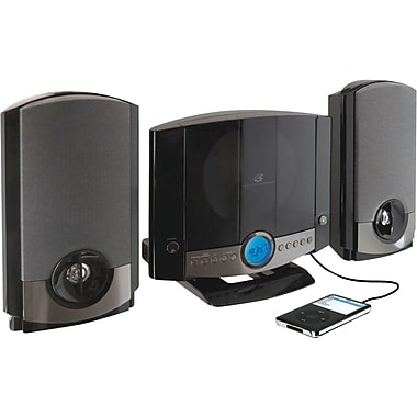GPx® HM3817DTBLK CD Home Music System, Black