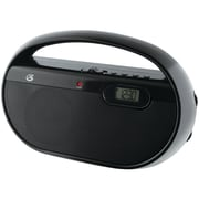 GPX® R602B AM/FM Portable Clock Radio